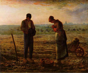 Picture  by French painter Jean-Francois Millet